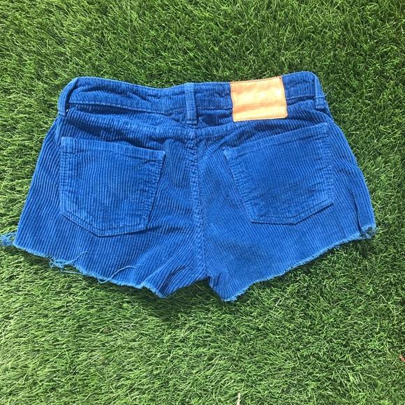415611689f Aviator Nation Corduroy shorts